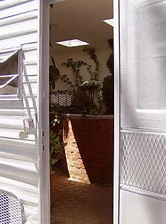 04. Holleman_ Trailer Park, doorway detail